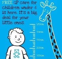 Free GP Care for under 6s in Ireland, where to register & check if your GP participates
