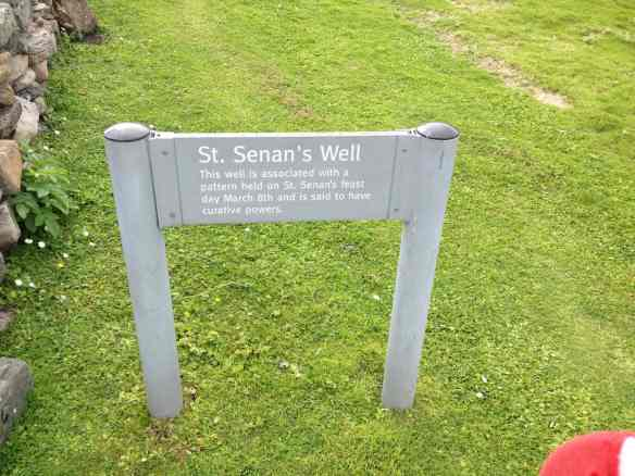St Senan's Well, Scattery Island