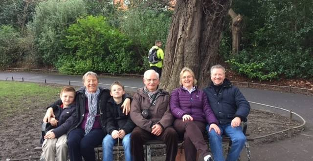 Famiy picture Dublin