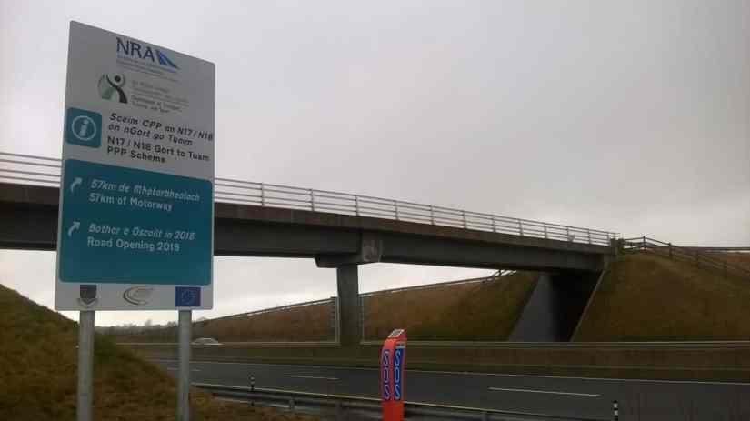 Gort to Tuam Motorway www.galwaybayfm.ie