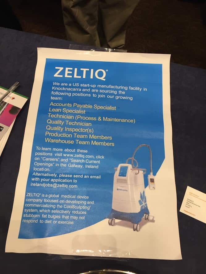 Zeltiq vacancies