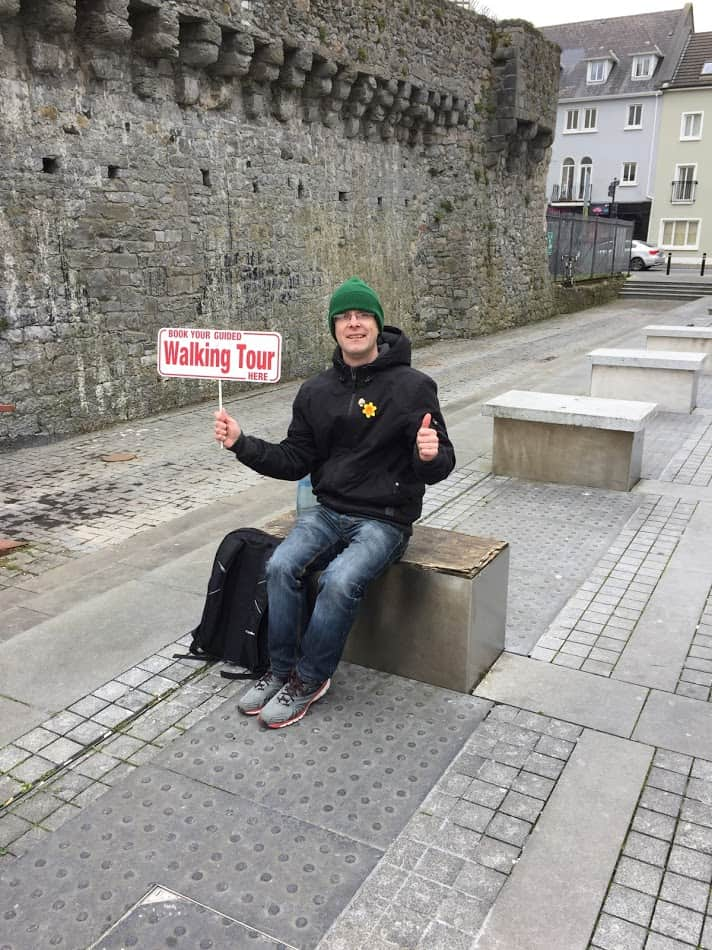 Picture of Gary Casey of Athas Walkingtours Galway