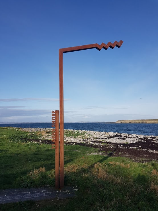 Flaggy Shore Sign
