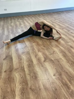 Yoga Pose – Front Split