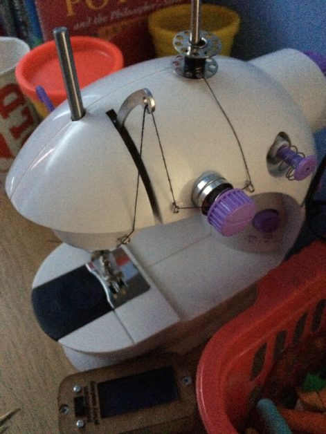 Kids activity – sewing