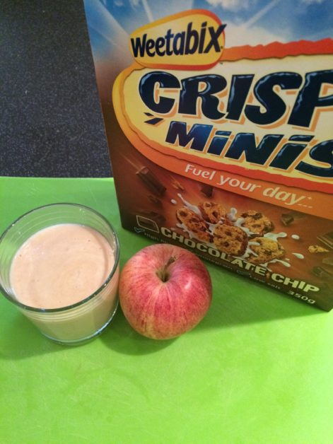 Apple Weetabix Milkshake