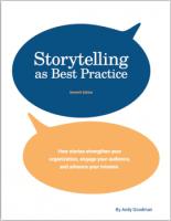 Storytelling as Best Practice