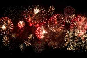 photo of fireworks display