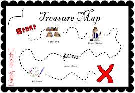 Workiton Treasure Map