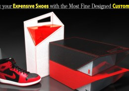 Display your Expensive Shoes with the Most Fine Designed Custom Display Boxes