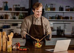 Increase sales with online food events