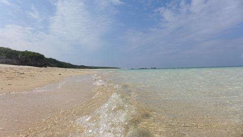 波照間島のニシ浜(北浜)