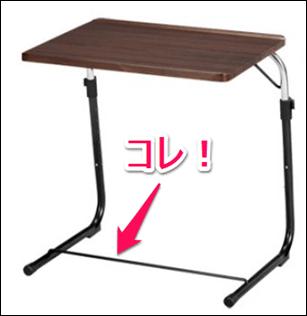 パソコンデスクサイドテーブル類似商品