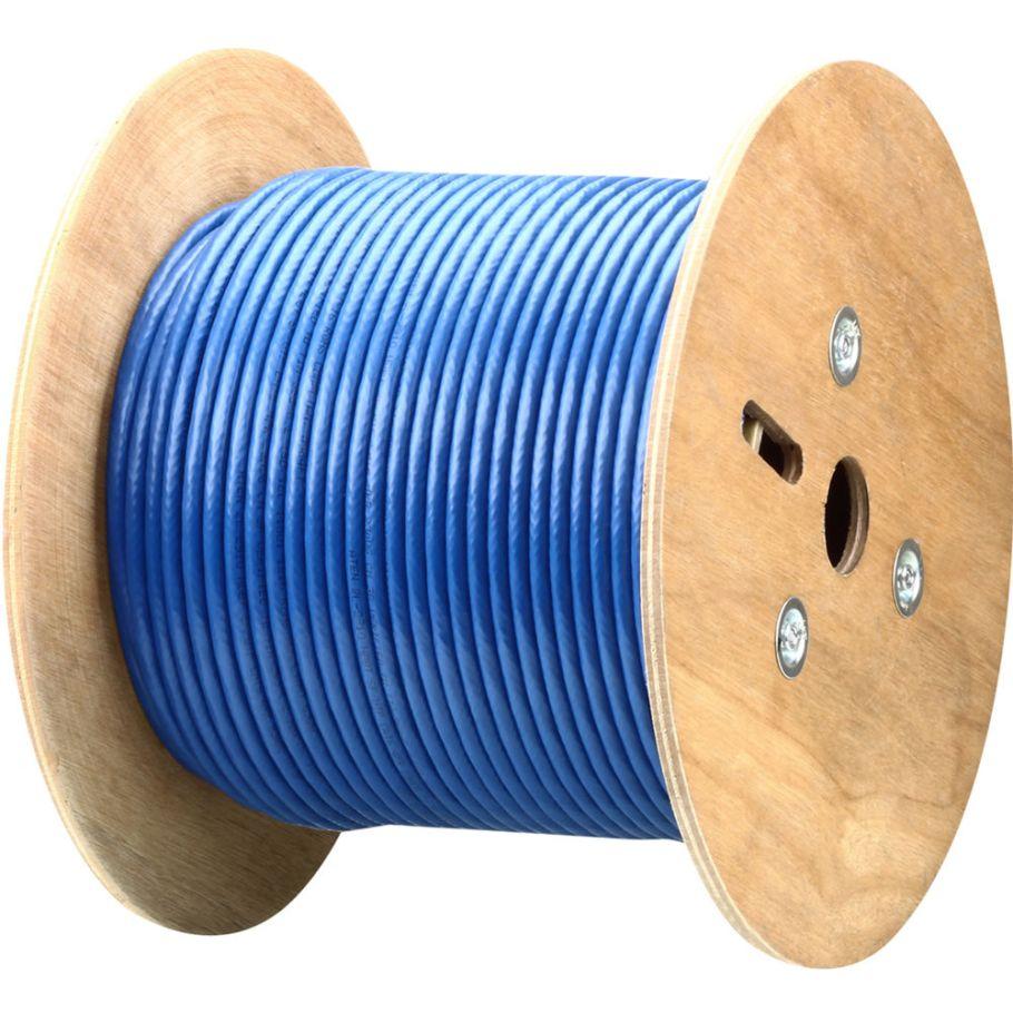 cat6 cabling, blue