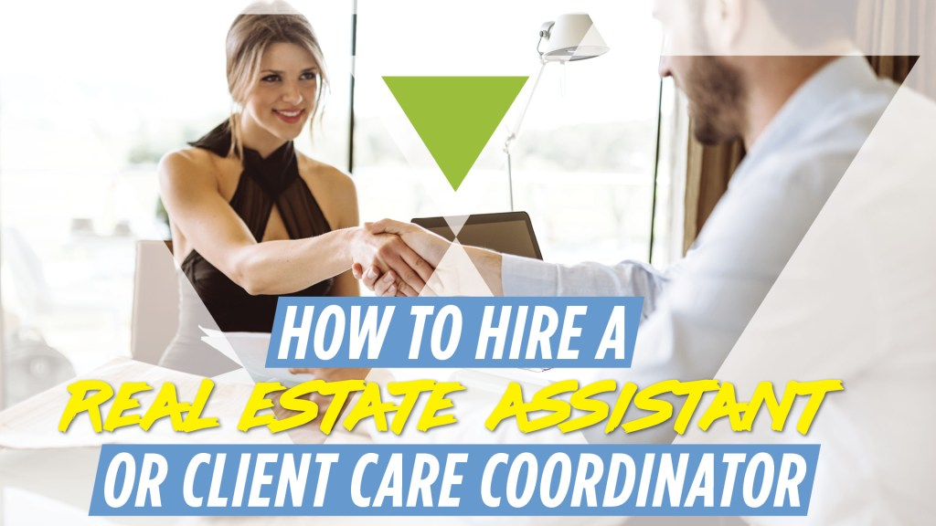 how to hire a real estate assistant