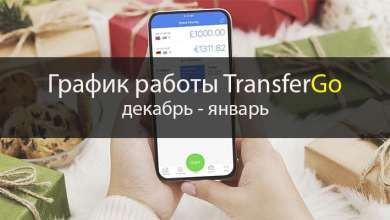 График работы TransferGo