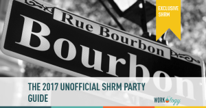 #SHRM17 Unofficial Party Guide, Cocktails & Reception List