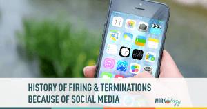 social media, social media policy, firing, terminations