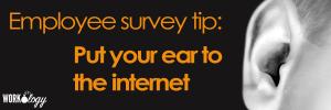 social media, listenening, recruiting , employee survey, employee engagement