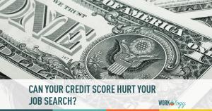 credit score, credit, job search