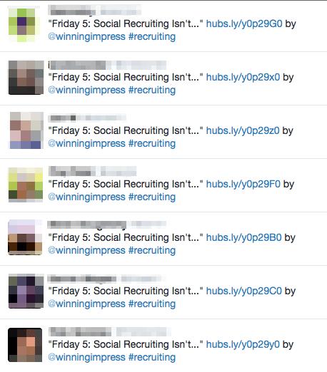 Social Recruiting Twitter