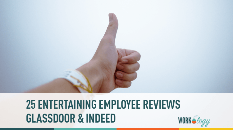 25 Entertaining Employee Reviews From Glassdoor And Indeed Workology