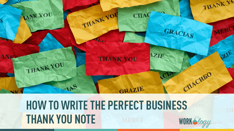 How to write the perfect business thank you note template workology thank you notes business accmission Gallery