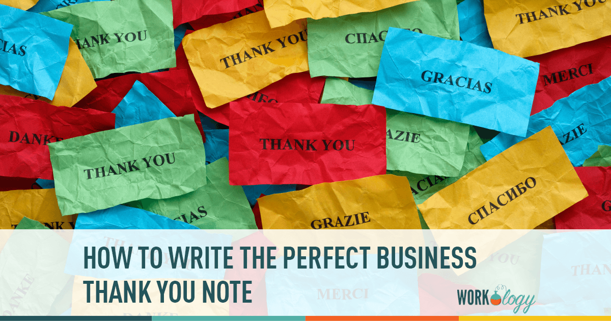 Thank You, Notes, Business,