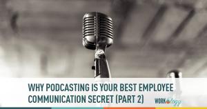 employee communication, podcasting, employees