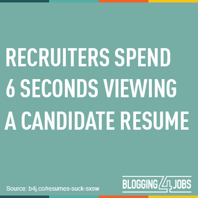 6-second-resume-recruiters