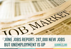 june, jobs, jobs report, new jobs, unemployment