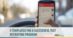text messaging, recruiting, text recruiting