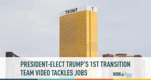 President-Elect Trump's First Transition Team Video Tackles Jobs