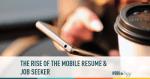 job seeker, mobile resume, candidate,