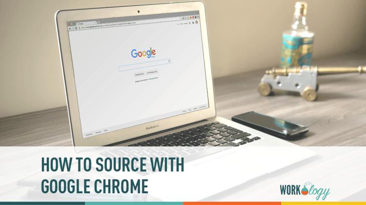 sourcing, google chrome, internet