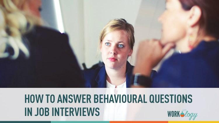 behavioural questions, job interviews, stress