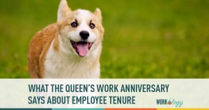 What the Queen's Work Anniversary Says About Employee Tenure