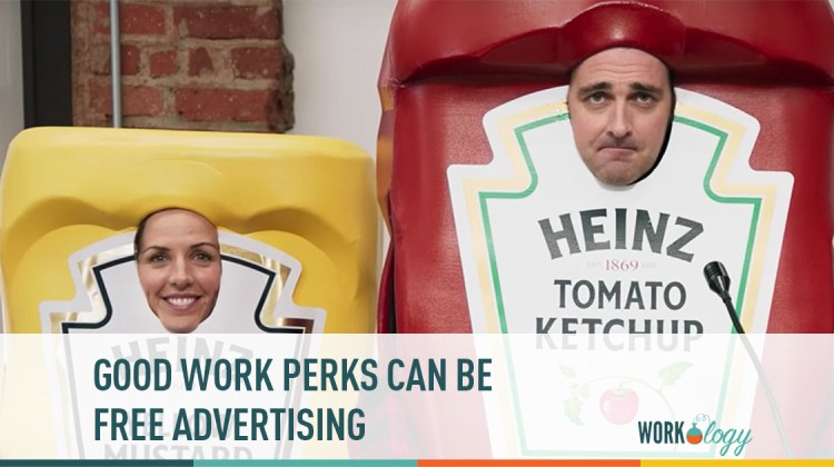 employee perks, employee satisfaction, advertising