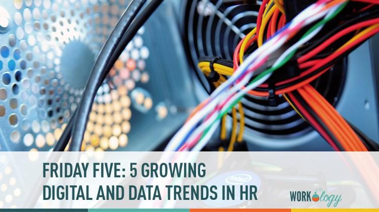 friday five, HR Data, HR Trends, HR Digital