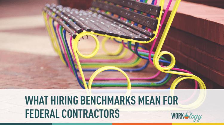 hiring benchmark, federal contractors, veteran hiring benchmark, disability hiring benchmark, ofccp hiring benchmark