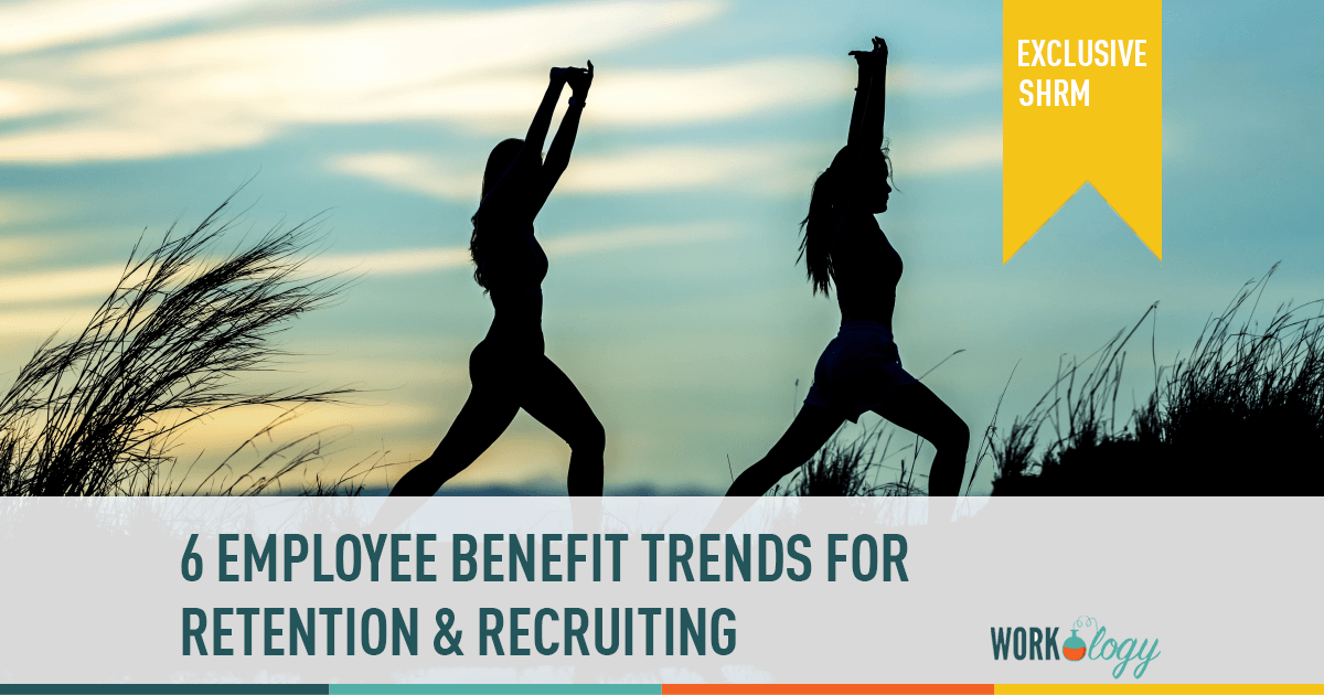 6 Employee Benefit Trends in 2017 #SHRM17