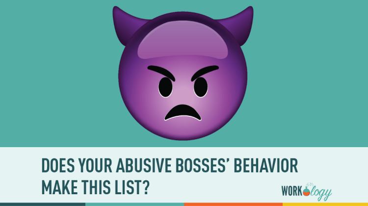 abuse at work, workplace abuse, abusive boss, abuse boss