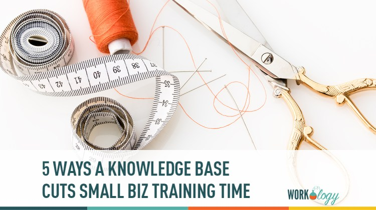 5 ways a knowledge base cuts small business training time