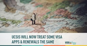 UCSIS will now treat some visa applications and renewals the same