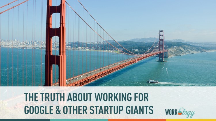 the truth about working for google and other startup giants