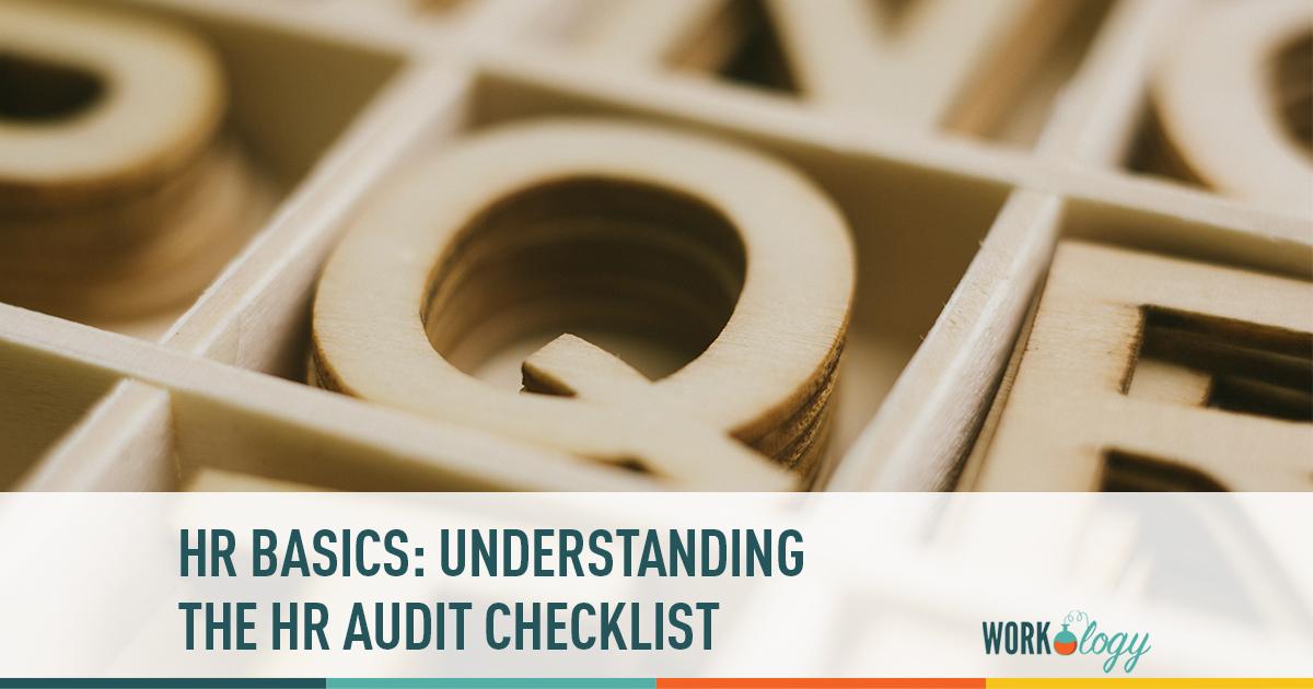 understanding the hr audit checklist workology
