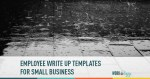 Employee Write Up Templates for Small Business