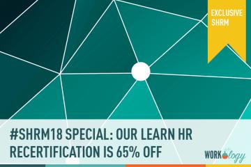 #SHRM18 Special: LEARN HR Certification Platform 65% Off