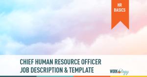 CHRO job description, chief human resources template