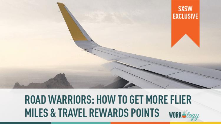frequently flier miles travel rewards points sxsw